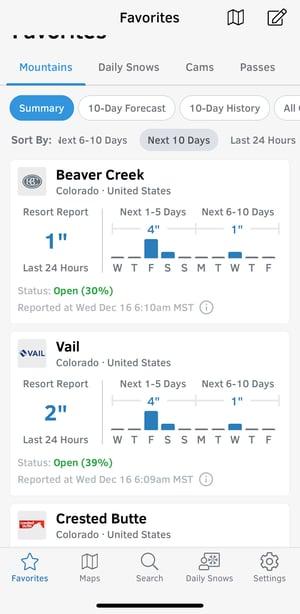 opensnow-vail-app-screenshot